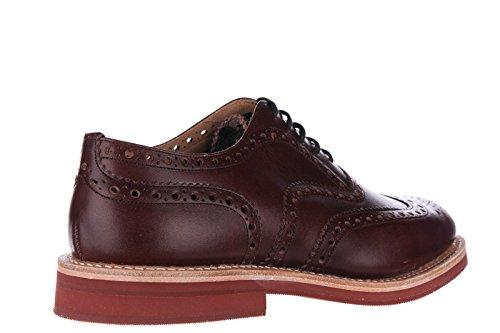 Church's chaussures à lacets classiques homme en cuir brogue downtown h marron
