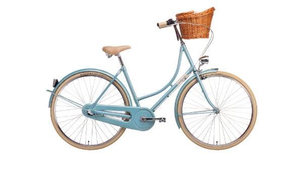Creme Bicicleta Holandesa Holy Moly Lady Solo, Color Turquesa ...