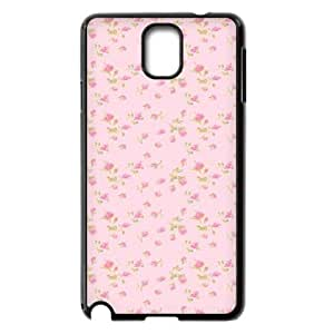 Pink Floral Brand New Cover Case for Samsung Galaxy Note 3 N9000,diy case cover ygtg570319
