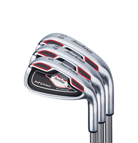 Tour Edge HL-J Junior Complete Golf Set with Bag (Right Hand, Graphite, 1 Putter, 3 Irons, 1 Hybrid, 1 Fairway, 1 Driver 9-12) Red by Tour Edge (Image #6)