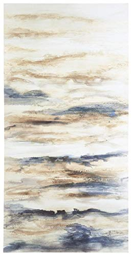 Ashley A8000277 Joely Wall Art Blue/Tan ()