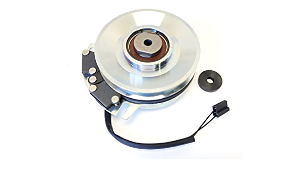 Xtreme PTO Clutch Replaces WARNER 5219-177 w//Heavy Duty Pulley Bearing Upgrade