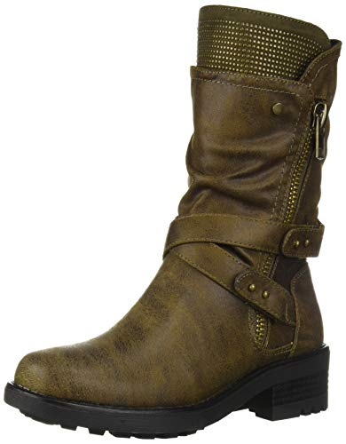 Carlos by Carlos Santana Women's Sawyer 3 Motorcycle Boot Forest 8 Medium US from Carlos by Carlos Santana