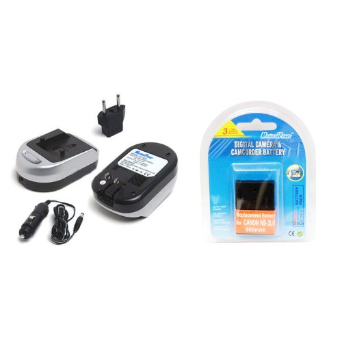 Maximal Power FC600 CAN NB-3L and DB CAN NB3L Camera Batt...