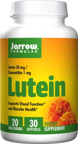 Jarrow Formulas Lutein 20mg Softgels product image