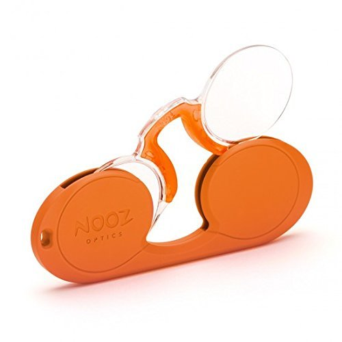 c29412aa88c6 Galleon - Nooz - Armless Reading Glasses - Orange +3 Oval - Wherever You Go