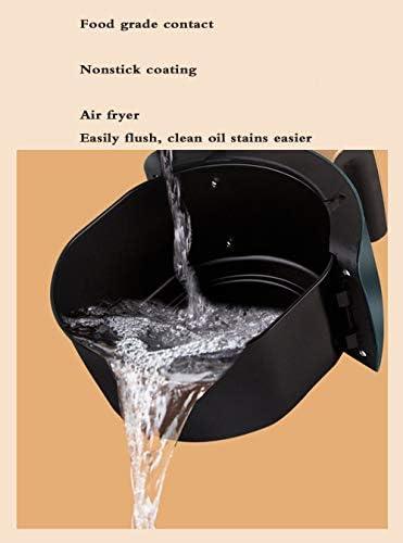 HANYF Friteuse électrique sans friteuse à air chaud de grande capacité de 4,5 l 1200 W / Friteuse à air / Écran tactile LCD / Cuisine maison avec un seul bouton