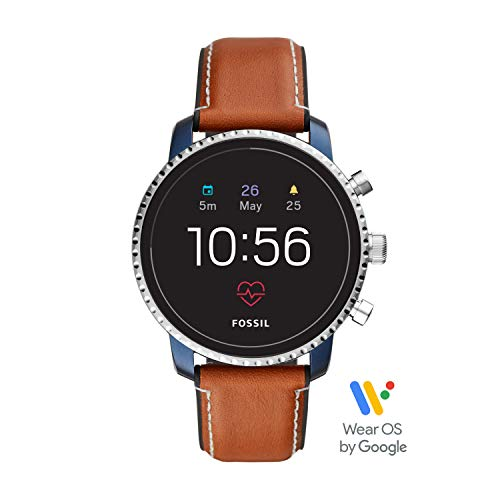 Fossil Leather Touchscreen Smartwatch ((Model: FTW4016)) ()