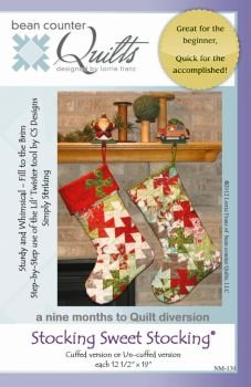 - Bean Counter Quilts Stocking Sweet Stocking Pattern
