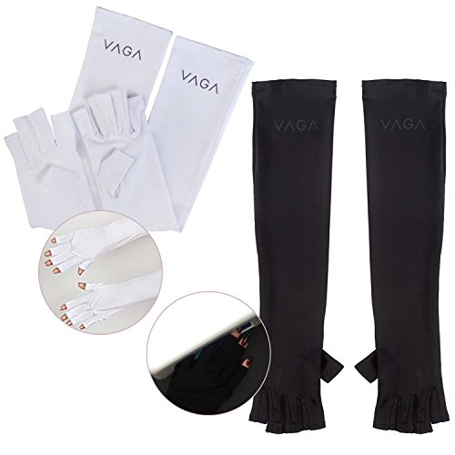 2 Pairs of Anti UV Gloves for Lights / Ultraviolet Lamps, Pr