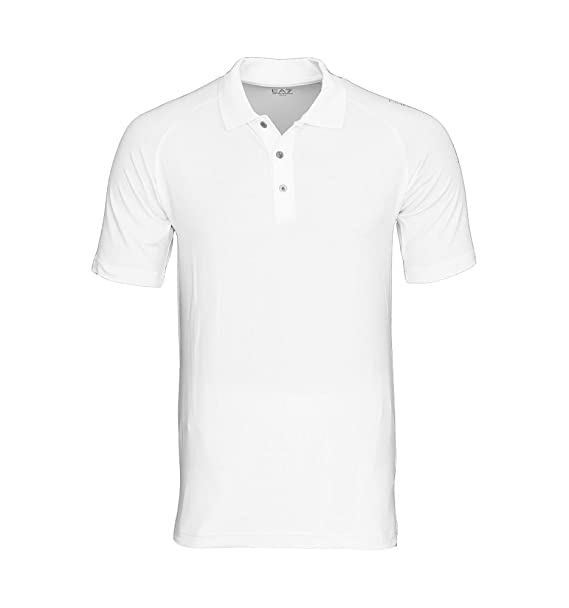 Emporio Armani - Polo - para Hombre Bianco Medium: Amazon.es: Ropa ...