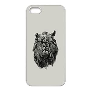 iPhone 4 4s Cell Phone Case White The eye of the Lion Viking