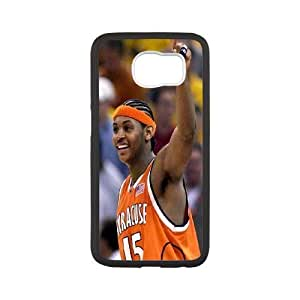 Custom High Quality WUCHAOGUI Phone case Carmelo anthony - New York Nicks Protective Case For Samsung Galaxy S6 - Case-7