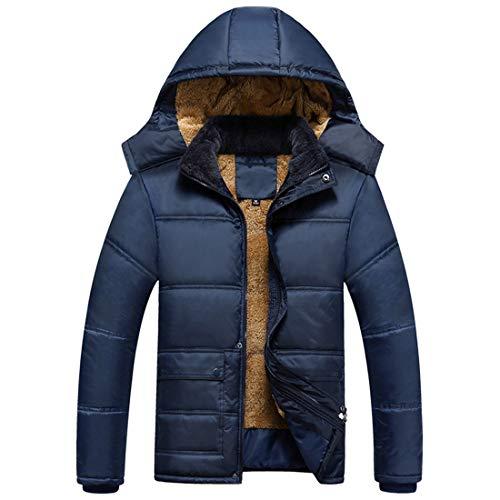 Ispessimento Incappucciati Uomini Uomini Cappotto Inverno Aiweijia Antivento Caldo Outwear Degli twTnPnqzxU