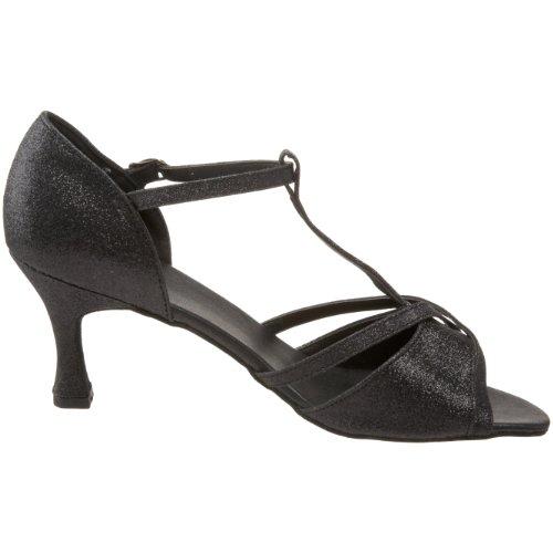 Sansha Women's Tina Ballroom Shoe Black L46AQ