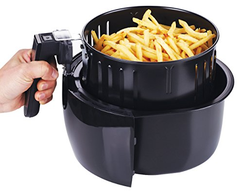 GoWISE GW22621 USA 4th Generation Electric Air Fryer, 3.7 QT, 1400W + Recipe Book