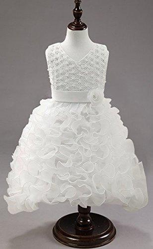 Mariée Mousseline D'honneur Blanc En 122 Robes Mariage Robe 104 Pour Formelles De 128 Demoiselles 140 Soie Dentelle 134 Princesse 116 Filles 5xwnSR7wq