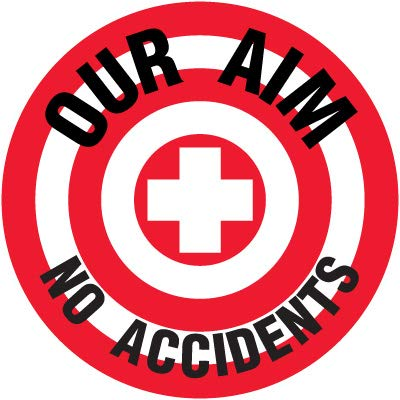 LEXAN Decal- Our AIM NO ACCIDENTS17