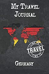 Are you looking for a beautiful, simple journal, diary or notebook for your trip to Germany?This is a travel journal with prompts and checklists that is a perfect Gift for someone planning their travel to Germany. Use it as Notebook, D...