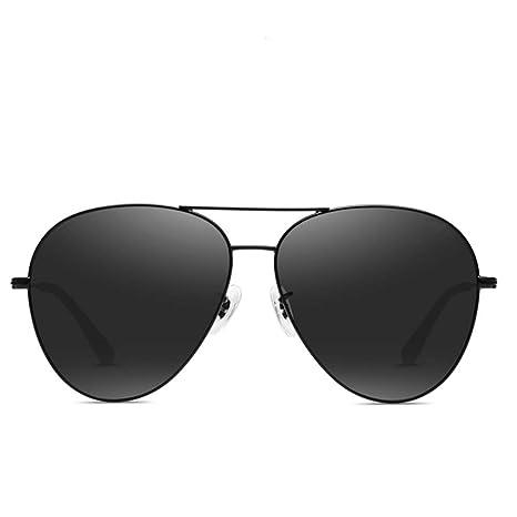 GY Gafas de Sol: Espejo de Rana para Hombre, polarizado ...