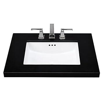 maykke bristol ceramic undermount bathroom vanity sink in white ysa1092001