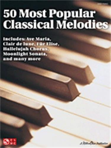 Popular Classical Melodies For Easy Piano (Clair De Lune Easy Piano)