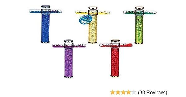 "Toysmith Glitter Wand Kaleidoscope Colors May Vary 6/"""