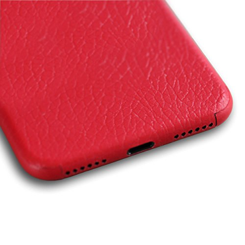 AppSkins Vorderseite iPhone 8 leather red