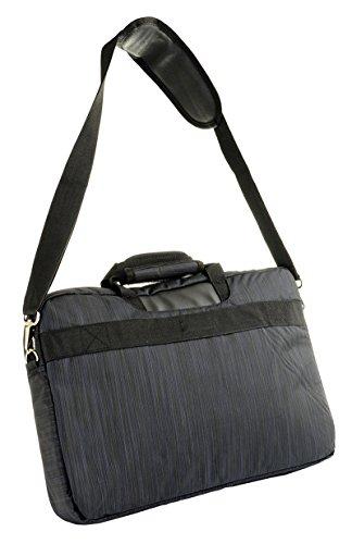 4F Moderno bolso ordenador portátil bolso para hombres y mujeres Señor de Buena Calidad Funda tru001SS17Color Azul Oscuro