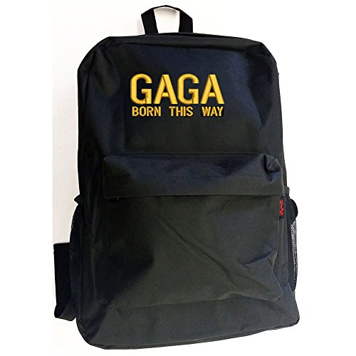 LADY GAGA The Best Top Backpack Bag Hipster Streetwear School College