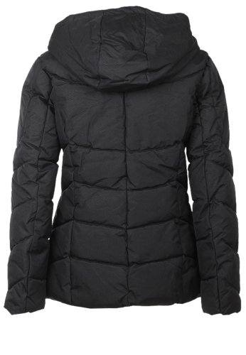 Sublevel Winter quilted jacket with hood Black