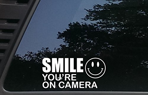 SMILE You're on Camera - 7 1/4