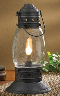 Tall Black Onion Lamp 14