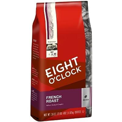 Eight O'Clock French Roast Whole Bean Coffee, 36-Ounce Bag