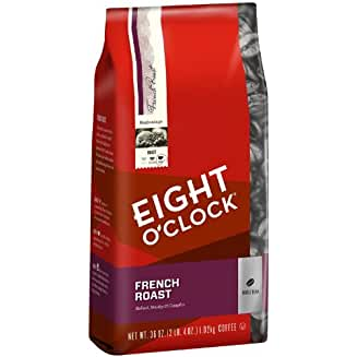 Eight O'Clock French Roast Whole Bean Coffee