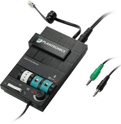 PLANTRONICS, INC., MX-10 Headset Switcher Multimedia Amplifier ()
