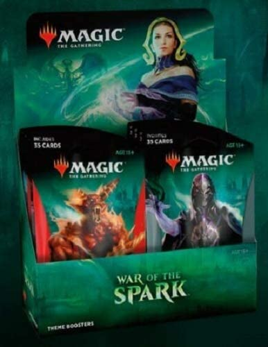 The Gathering Set of 5 War of the Spark Themed Booster Pack Magic