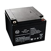 Panasonic 12V 28Ah 12V 26Ah Sealed Lead Acid Battery - This is an AJC Brand® Replacement