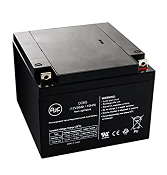 BB BP26-12 12V 26Ah Wheelchair Battery - This is an AJC Brand Replacement