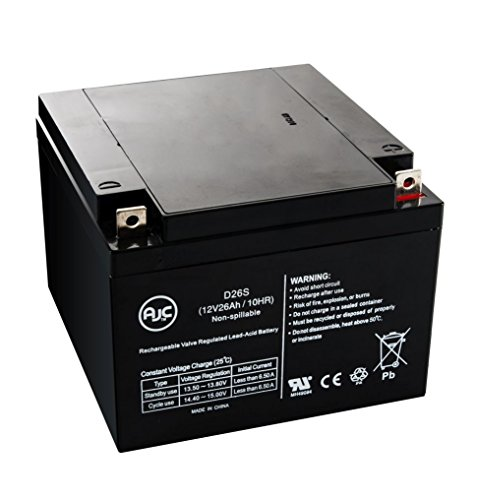 UPC 683498653738, Air Shields TI-67 Infant Transport 12V 26Ah Medical Battery - This is an AJC Brand174; Replacement