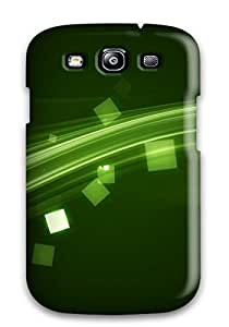 Hot Electrify Green First Grade Tpu Phone Case For Galaxy S3 Case Cover