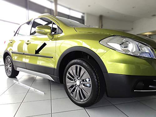 Spangenberg Listones de protección Lateral, Color Negro, para Suzuki SX4 II S-Cross Combi a Partir de 08.2013- F20 (370002007): Amazon.es: Coche y moto