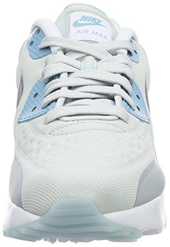 Nike Air Max 90 Ultra Se (Gs), Zapatillas de Running para Mujer Plateado (Pure Platinum / Metallic Silver-Wolf Grey)