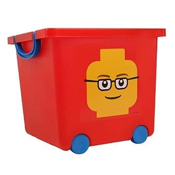Amazon.com: LEGO Storage Baskets with Wheels LEGO Organizers TSB-SQ ...