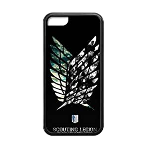 Happy Attack on Titan Cell Phone Case for Iphone 5C