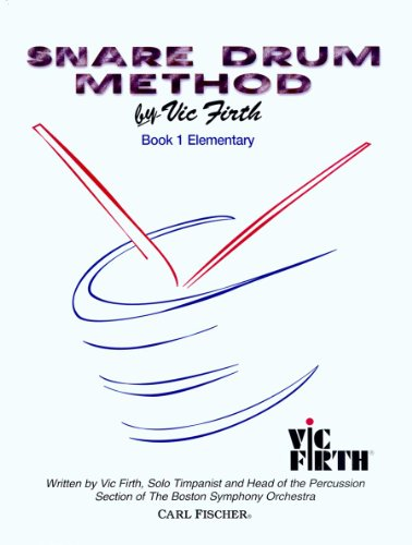 Elementary Drum - O4653 - Snare Drum Method Book 1 - Elementary