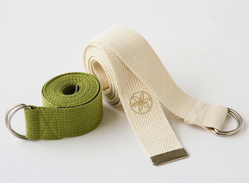 Gaiam 8-Foot Organic Cotton Yoga Strap