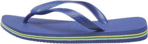 EU Brasil para Marine Brasil 34 33 36 Brazilian Havaianas Logo Azul Unisex Blue Adulto 35 Chanclas Twx7AqRC