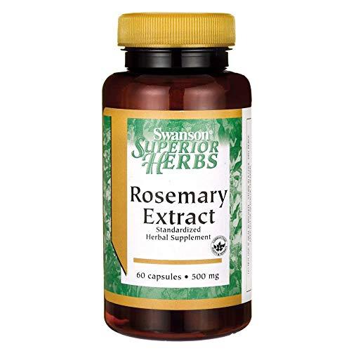 (Swanson Rosemary Extract 500 Milligrams 60 Capsules)