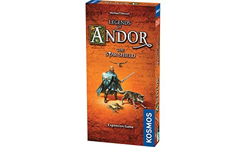 Thames & Kosmos Legends of Andor The Star Shield Expansion | Cooperative Strategy Adventure Board Game